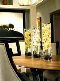 Dining Tables Decoration Ideas Table Centerpiece Outstanding Decor Modern Beautiful