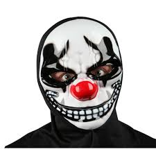 The Purge Halloween Mask Ebay by Sinister Freaky Clown Purge Horror Halloween Mask Hood Fancy Dress