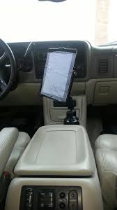 Ipad GPS And Mount Photos And Articles Ipad Iphone Android Mounts From Ipod And Mp3 Car Adapter Kits Accsories Ivapo Headrest Mount Seat Cars Seats Scion Tc Diy Incar Mount Apple Forum My Chevy Tahoe With Its New Ram Gallery Article Ipad Install Into Dash 99 F250 Ford Truck Enthusiasts Forums Ibolt Tabdock Flexpro Heavy Duty Floor For All 7 10 Holder 2 Thesnuggcom Canada Wall Tablet Display Stand Stands Enterprise Series Get Eld The Scenic Route Handy Mini Addons Wwwtrailerlifecom