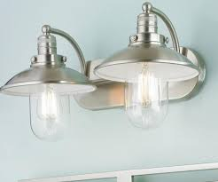 ideas stylish bathroom light fixture with outlet 2 bulb