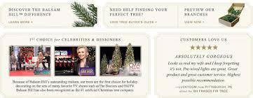 Balsam Hill Premium Artificial Christmas Trees by Artificial Christmas Trees On Sale Balsam Hill