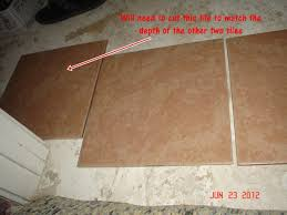 where to place tile at doorway tiling ceramics marble diy