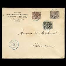 Stamp Auction Ethiopie Philately Postal History Of The World