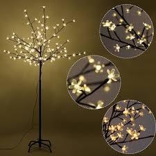 Cherry Blossom Bathroom Decor by Costway Christmas Xmas Cherry Blossom Led Tree Light Floor Lamp