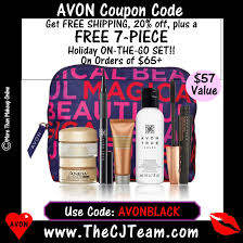 FREE #Avon Gift Set! 7 Piece Holiday On-the-Go Set With ANY ... Revolve Clothing 20 Coupon Code Pizza Deals 94513 Tupperware Codes 2018 Iphone Upgrade T Mobile Zazzle 50 Percent Off Alaska Airlines Pin By To Buy Or Sell Avon On Free Shipping 12 Days Of Deals The Beauty In You Makeup Box Shop Wwwcarrentalscom Promo Seventh Avenue Discount Books For Cowgirl Dirt Student Ubljana Coupon Code Welcome10 More Than Makeup Online Avon Online Coupon Codes Journey An Mom Zwilling Airsoft Gi Coupons Promotional