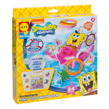 ALEX Toys Spongebob Ring Toss In The Tub Kit - AlexBrands.com Spongebob Kids Table And Chairs Set Themed Timothygoodman1291 Spongebobs Room Crib Bedding Squarepants Activity Amazoncom 4sea Square Pants Directors Chair Clutch Childrens Soft Slipper Slipcover Cute Spongebob Party Up Chair So I Was Walking With My Roommate To Get Flickr Toddler Bedroom Bundle Bed Toy Bin Organizer Liuyan Placemats Sea Placemat Washable Nickelodeon Squarepants Bean Bag Walmartcom Pizza Deliverytranscript Encyclopedia Spongebobia Fandom Cheap Find Deals On Line Toys Wallpaper Theme Decoration