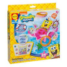 ALEX Toys Spongebob Ring Toss In The Tub Kit - AlexBrands.com