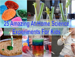 At Home Science Experiments For Kids Praktic Ideas