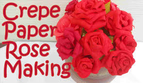 Paper Craft Rose Step By