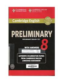 255096096 Preliminary English Test 8 Red