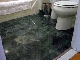 green marble floor tile ourcozycatcottage