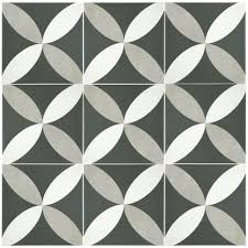 Home Depot Merola Hex Tile by Merola Tile Twenties Petal 7 3 4 In X 7 3 4 In Ceramic Floor And