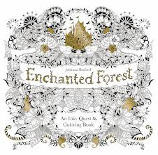 Adult Coloring Book Johanna Bas Ford Enchanted Forest