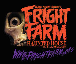 Scariest Halloween Attractions In Mn by Ramsey County Fright Farm Haunted House Youtube