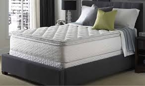 Serta Perfect Sleeper Air Mattress With Headboard by Queen Serta Perfect Sleeper Silver Suite Supreme Pillowtop Mattress