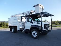 1993 GMC 7000 BUCKET BOOM TRUCK FOR SALE #516652
