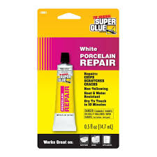 Tile Adhesive Remover Home Depot by Super Glue 0 5 Fl Oz White Porcelain Repair 12 Pack 19061 6