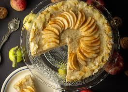 milchreis apfel kuchen mit zimt und mandeln