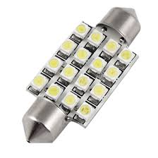 Amazon uxcell Car 38mm White 16 SMD LED Interior Festoon Dome