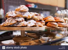 100 Melbourne Bakery Cakes And Pastries On Display In A Cafe Stock Photo
