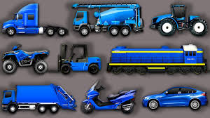 Learning Street Vehicles For Kids. Cars And Trucks: Garbage Truck ...