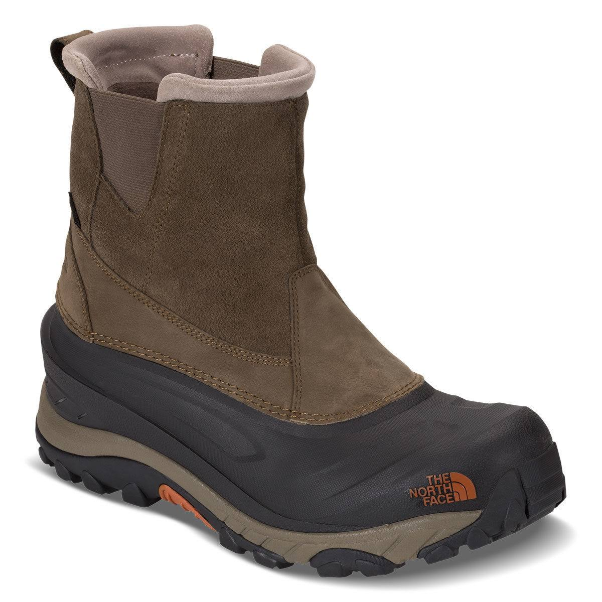 The North Face Men's Chilkat III Pull-On - Mudpack Brown & Bombay Orange - 10