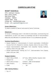 Diploma Resume Format Pdf Related Post