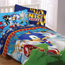 sonic bedding sega sonic speed kids bedding