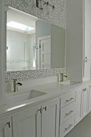 charming glass mosaic tiles design ideas for adorable bathroom
