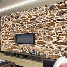 nach jeder größe wand tapete vintage nostalgische 3d relief stein textur wand malerei wohnzimmer studie restaurant wand papiere