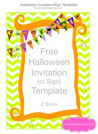 Free Halloween Invitation Templates Microsoft by Kids Invitations Exol Gbabogados Co