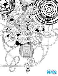 Mandala Vintage Circles And Rosettes Coloring Page