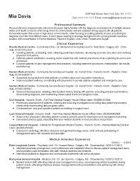 Resume Templates Entry Level Physician