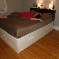 bedroom fascinating ikea brimnes bed for provide comfort break