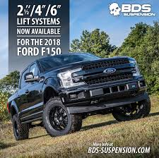 BDS New Product Announcement #293: 2018 Ford F150 Lift Kits | BDS
