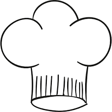 Holiday Coloring Pages Chef Page Hat