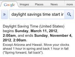 Siri thinks Daylight Saving Time starts 4 days early