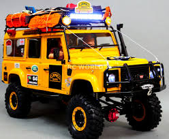 100 4x4 Rc Trucks RC4WD 110 LAND ROVER DEFENDER 110 CAMEL TROPHY Team UK 4X4 W WINCH