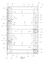 Meridian File Cabinet Rails by Patent Us7901017 Security File Cabinet With Self Closing Self