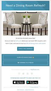 Kohls DOUBLE Stack I NEED These Dining Chairs
