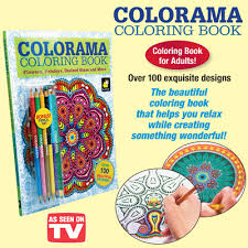 Colorama Coloring Book From Collections Etc