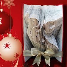 How To Make A Folded Book Christmas Tree