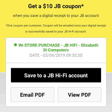 $10 Coupon When Saving Your In-Store Receipt To Your Online ...