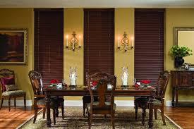 Faux Wood Blinds Design Ideas Formal Dining Room Decorating Dark