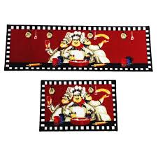 Chef Man Kitchen Theme by Formidable Chef Man Kitchen Rugs Images Ideas Sets Bistro Decor