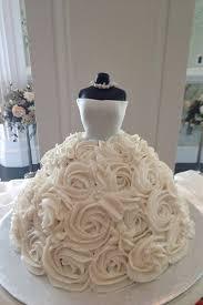 Best 25 Wedding dress cake ideas on Pinterest