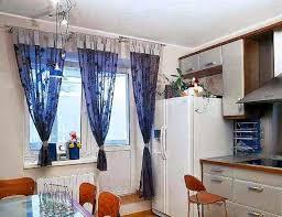 Simple Modern Kitchen Curtains