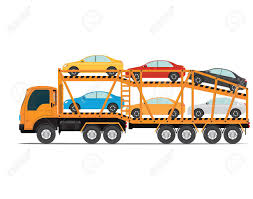 100 Auto Truck Transport The Trailer S Cars With New Trailer