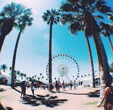 Beach Cali California Ferris Wheel Palm Trees Sunshine Tumblr