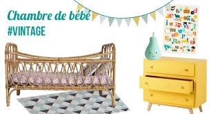 deco vintage chambre bebe déco une chambre bébé vintage